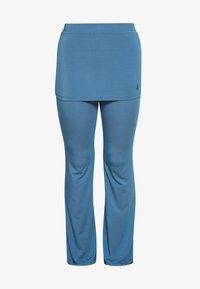 Curare Yogawear - PANTS SKIRT - Joggebukse - horizon blue - 3