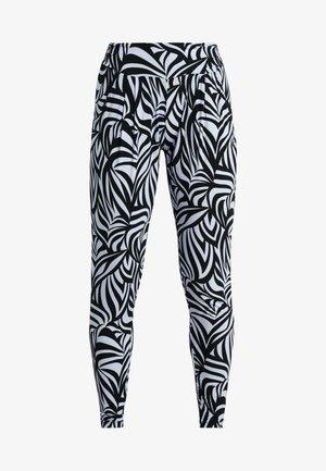 PANTS LONG LOOSE ROLL DOWN - Pantalon de survêtement - grafik blue
