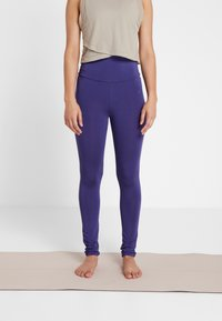 Curare Yogawear - LEGGINGS - Tights - indigo blue - 0