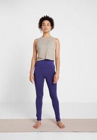 Curare Yogawear - LEGGINGS - Tights - indigo blue - 1