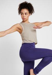Curare Yogawear - LEGGINGS - Tights - indigo blue - 3