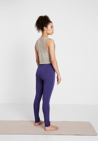 Curare Yogawear - LEGGINGS - Tights - indigo blue - 2