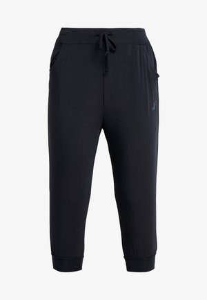 PANTS LONG LOOSE - Tracksuit bottoms - black