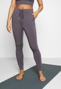 Curare Yogawear - LONG PANTS - Tights - greyberry - 0