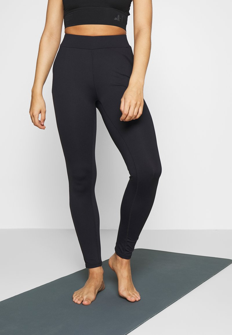 Curare Yogawear - LONG PANTS POCKETS - Leggings - midnight blue