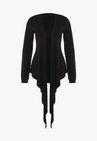 Curare Yogawear - WRAP JACKET - Veste de survêtement - black - 5
