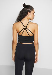 Curare Yogawear - SHORT - Topper - black - 2
