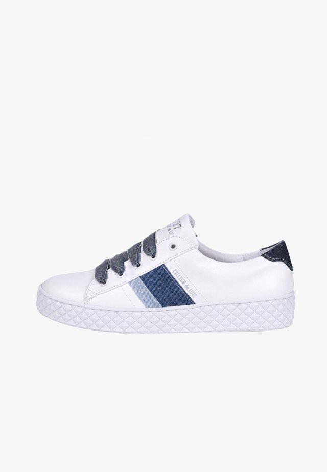 PICA - Trainers - white/denim