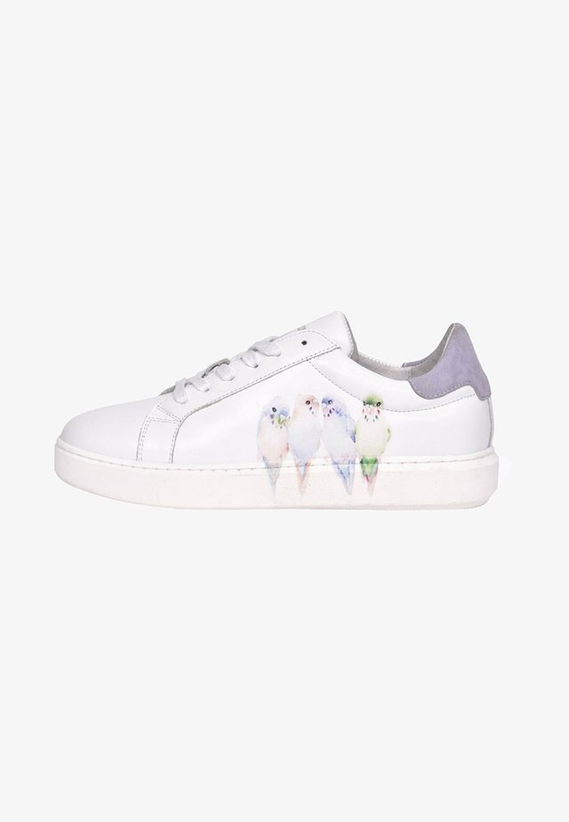 FOX-POPPY - Trainers - white/purple