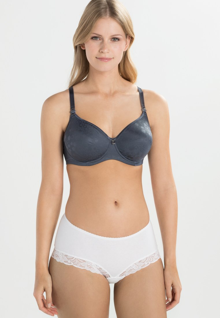 Cache Coeur - UNDERWIRED BREASTFEEDING BRA NURSING - Reggiseno con ferretto - slate blue