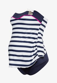 Cache Coeur - MARINA TANKINI - Costume da bagno - blue - 0