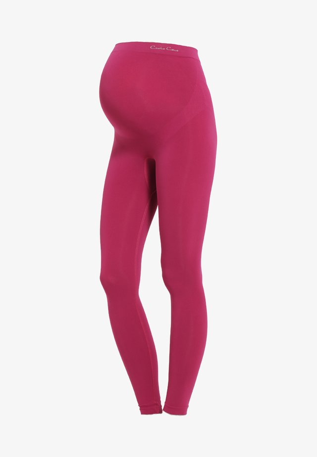 ILLUSION - Leggings - cassis