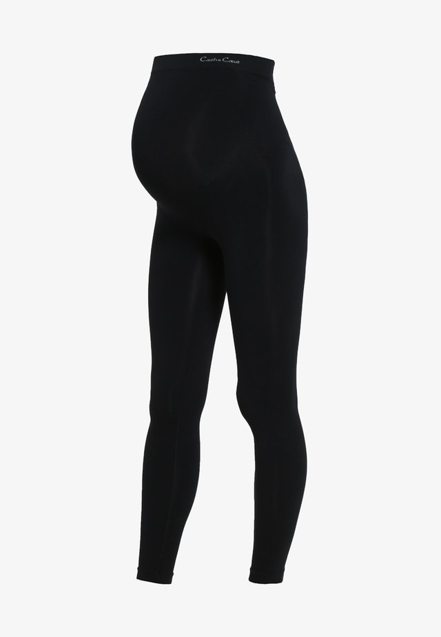 ILLUSION - Leggings - black