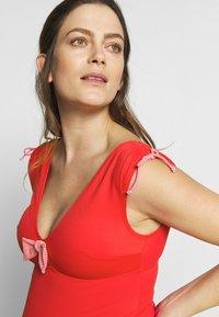 Cache Coeur - ST TROPEZ SET - Bikini - red - 3