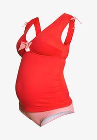 Cache Coeur - ST TROPEZ SET - Bikini - red - 4