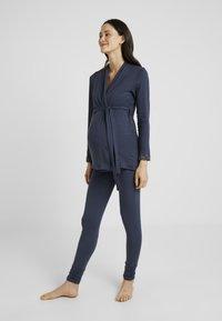 Cache Coeur - KHALI LEGGINGS  - Pyjamasbukse - night blue - 1