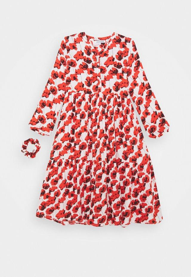 KENYA DRESS - Robe d'été - red