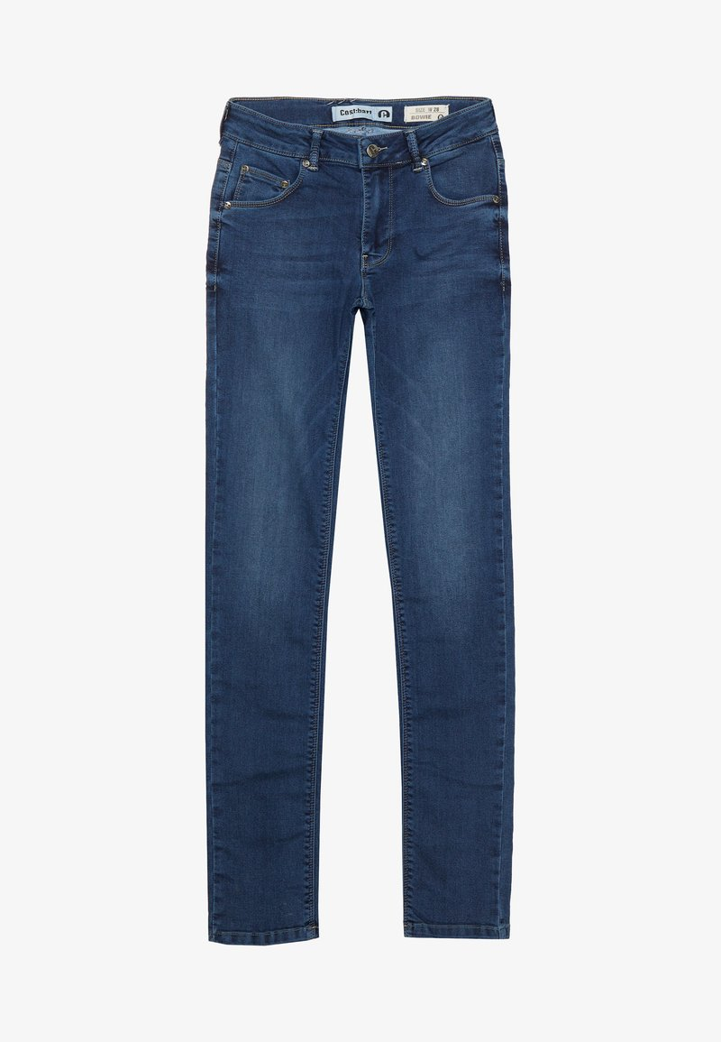 Cost:bart - BOWIE - Slim fit -farkut - dark blue wash
