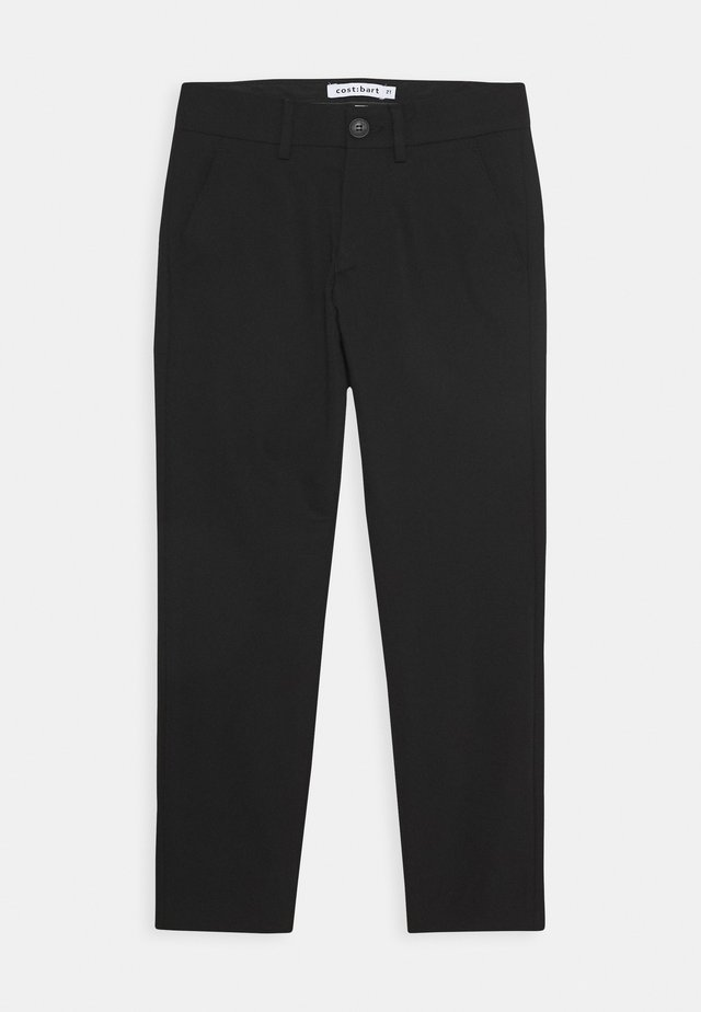 KLAUS PANTS - Broek - black