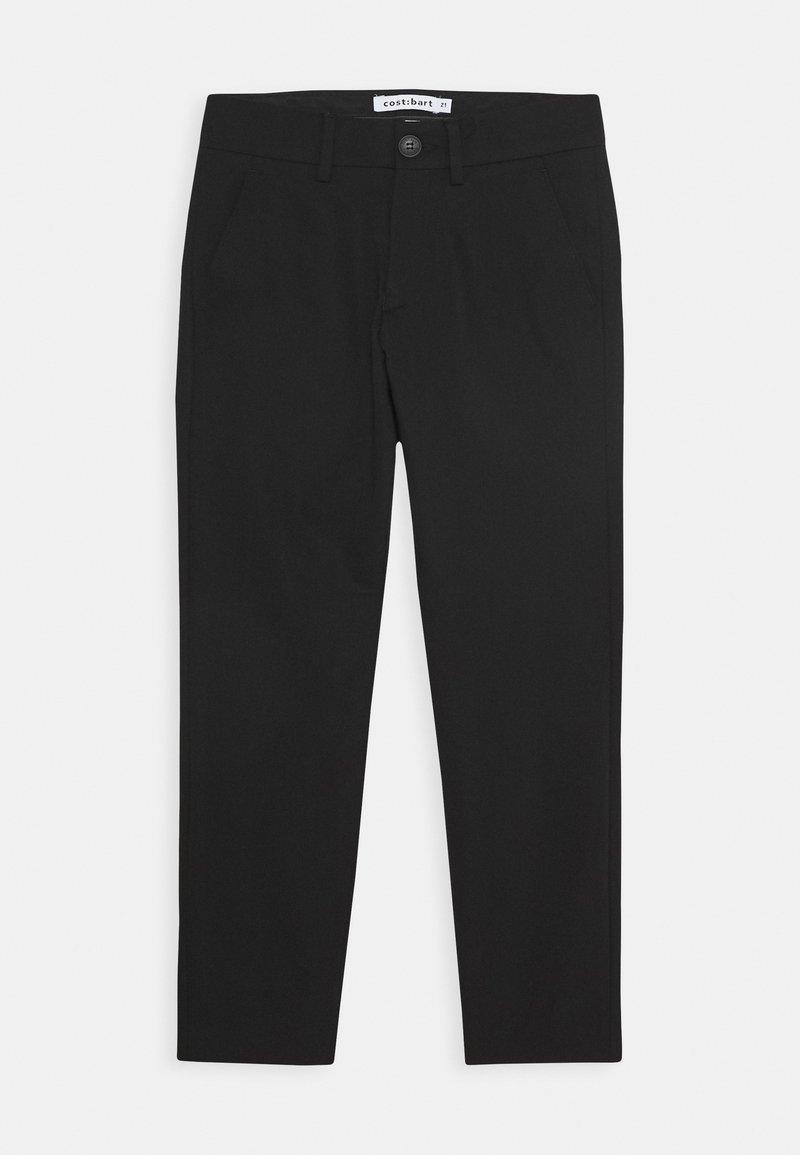 Cost:bart - KLAUS PANTS - Tygbyxor - black