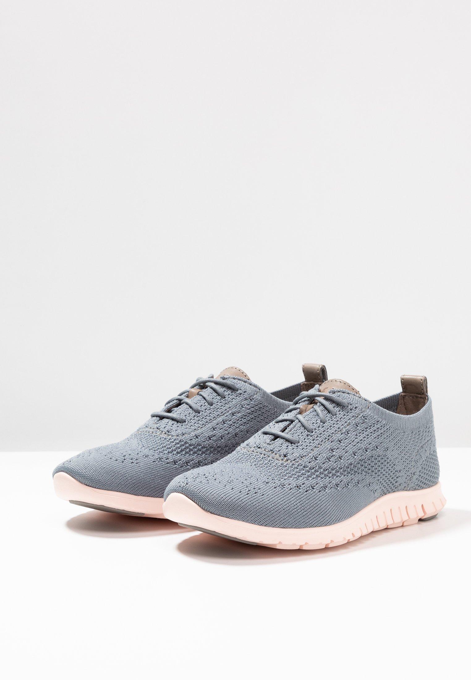 Cole Haan ZEROGRAND STITCHLITE OXFORD - Sneakersy niskie - ironstone/tropical peach