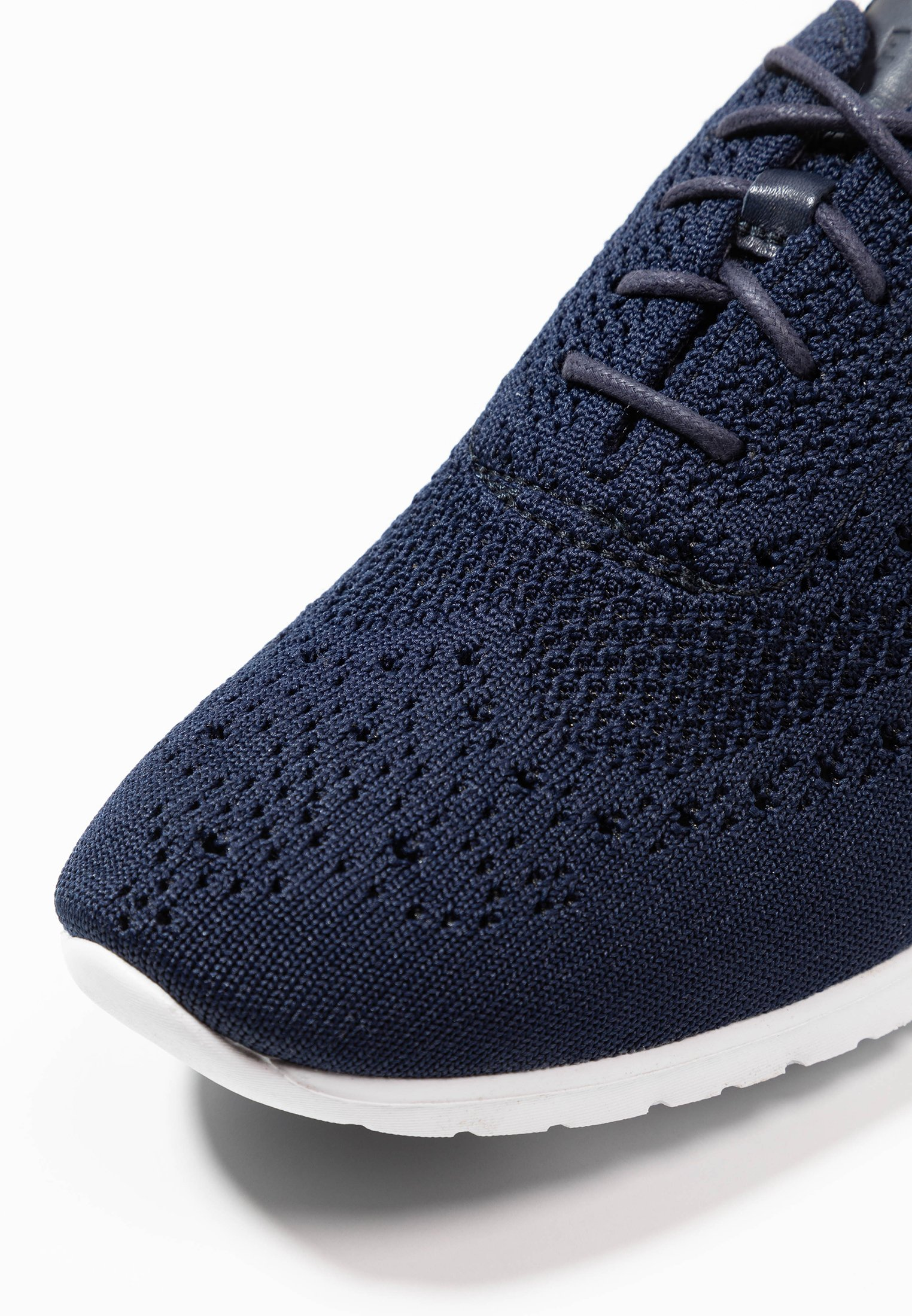 Cole Haan ZEROGRAND STITCHLITE OXFORD - Sneakersy niskie - marine blue/optic white