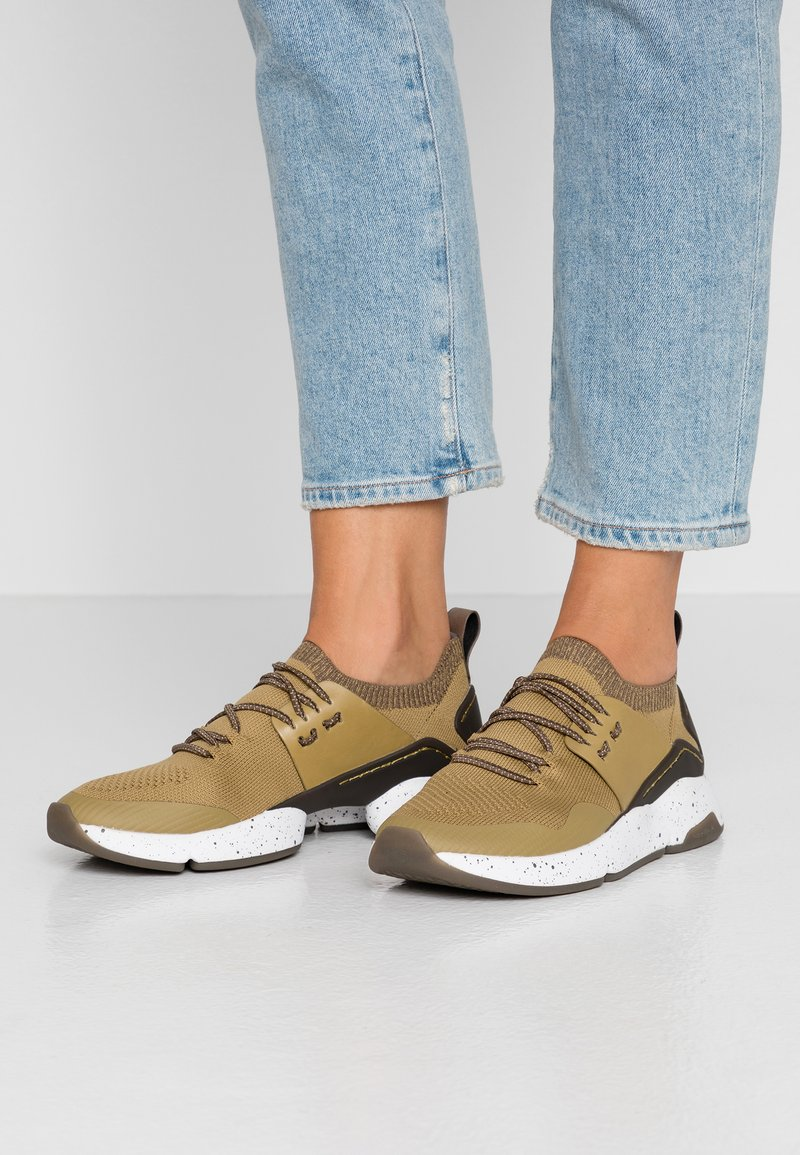 Cole Haan - ZEROGRAND ALL-DAY STITCHLITE TRAINER - Baskets basses - fennel seed