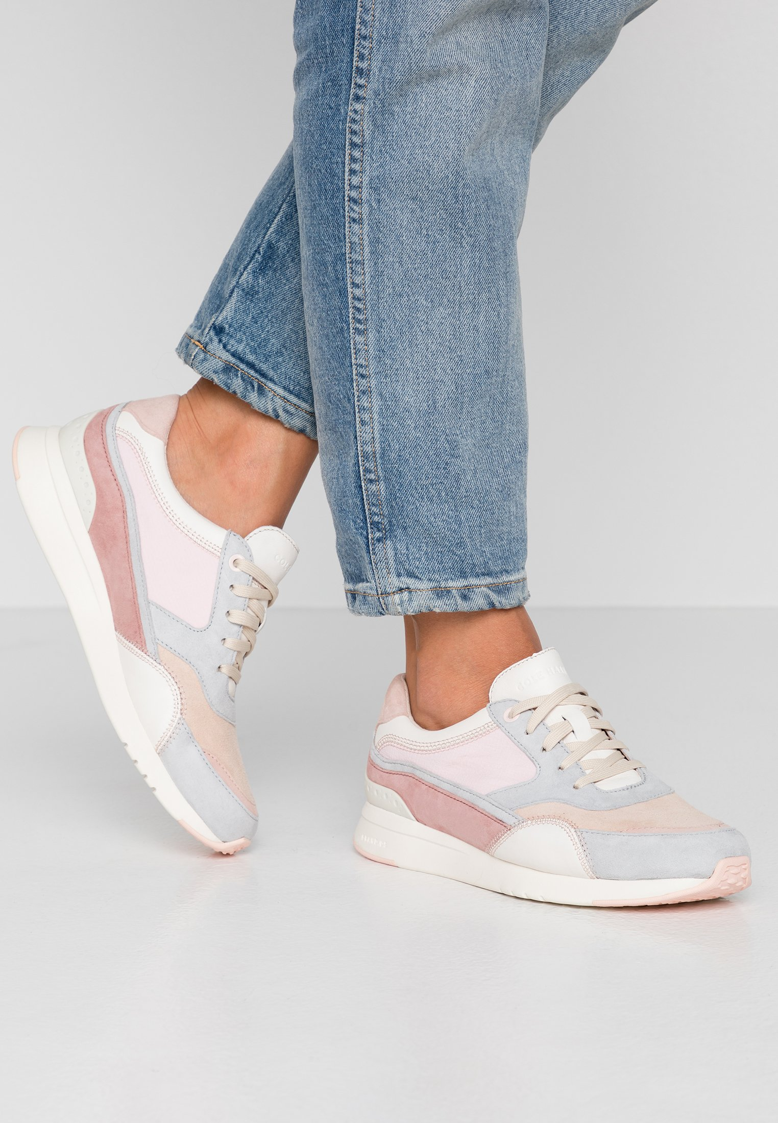 Cole Haan GRANDPRO LAYERED TRAINER - Sneakers basse - light pink/multicolor light pink/multicolor