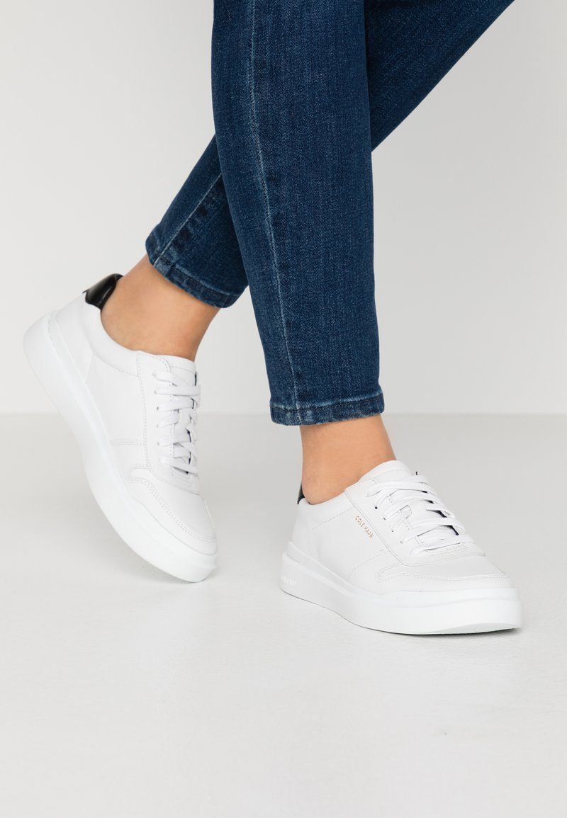 Cole Haan - GRANDPRO RALLY COURT  - Trainers - optic white/black