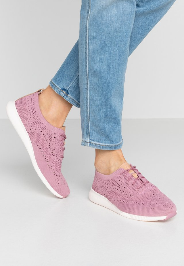 ZEROGRAND STITCHLITE OXFORD - Sneakers - orchid haze/shrinking violet