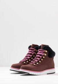 Cole Haan - ZEROGRAND  - Boots à talons - choc/ivory - 4