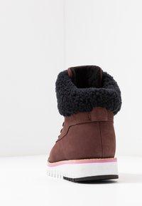Cole Haan - ZEROGRAND  - Boots à talons - choc/ivory - 5