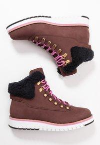Cole Haan - ZEROGRAND  - Boots à talons - choc/ivory - 3