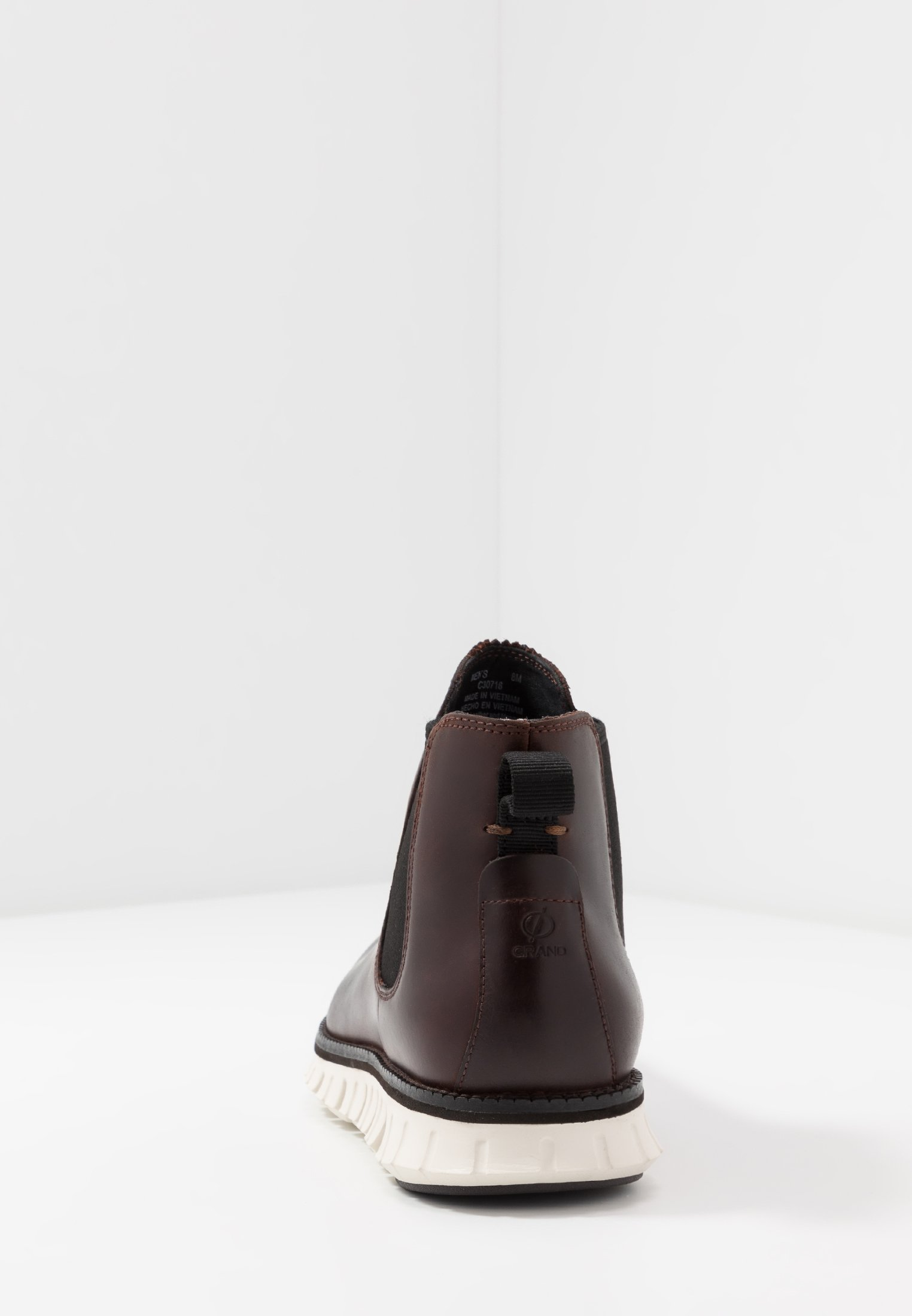 Cole Haan Zerogrand Chelsea Wp - Bottines Chestnut/ivory