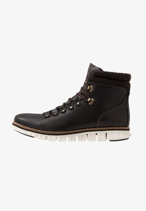 ZEROGRAND HIKER WP - Lace-up ankle boots - brown/ivory