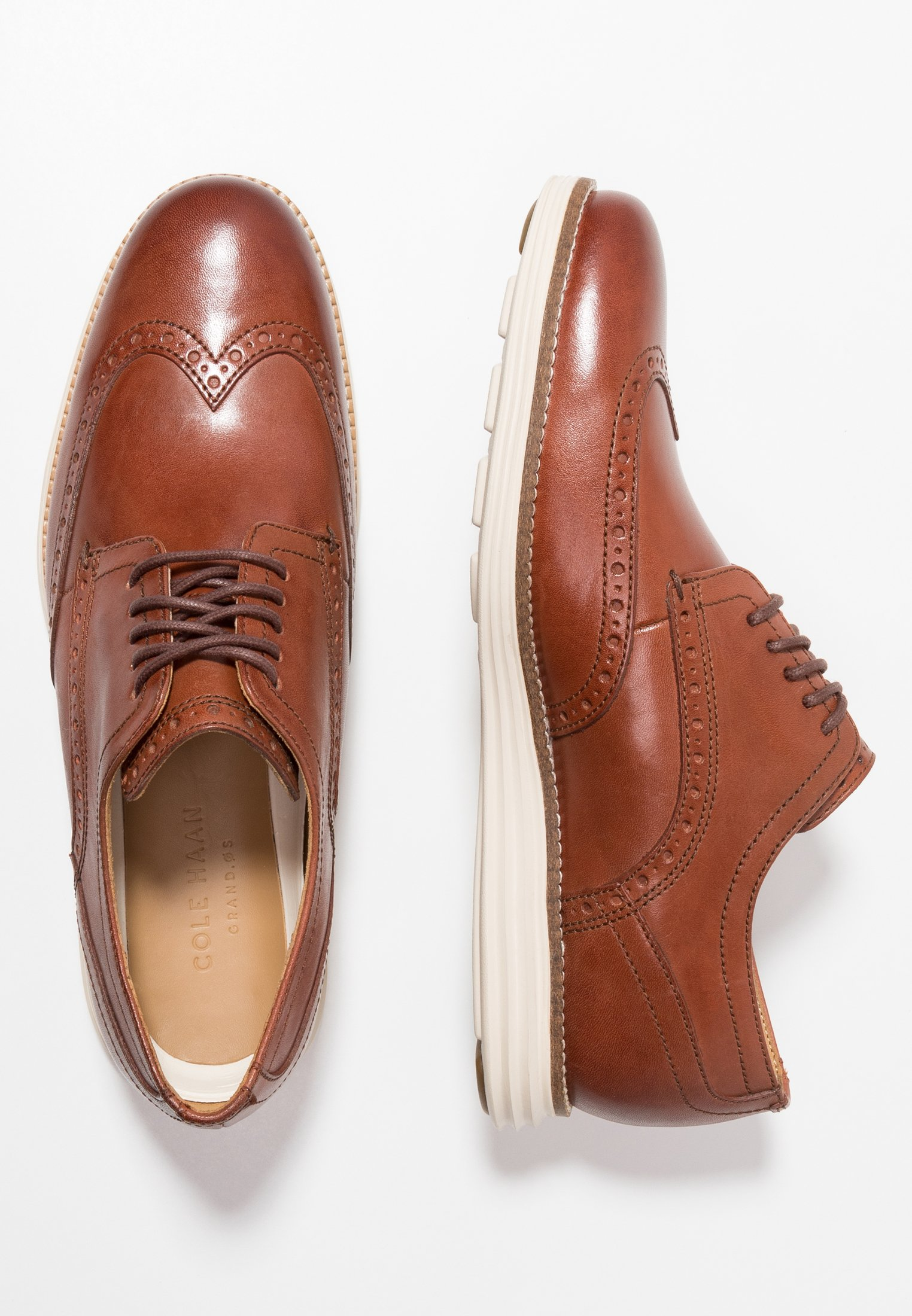 ORIGINAL GRAND WINGTIP OXFORD Sportiga snörskor woodburyivory