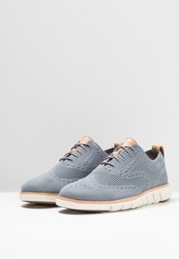 Cole Haan - ZEROGRAND STITCHLITE OXFORD - Casual lace-ups - ironstone /ivory - 2