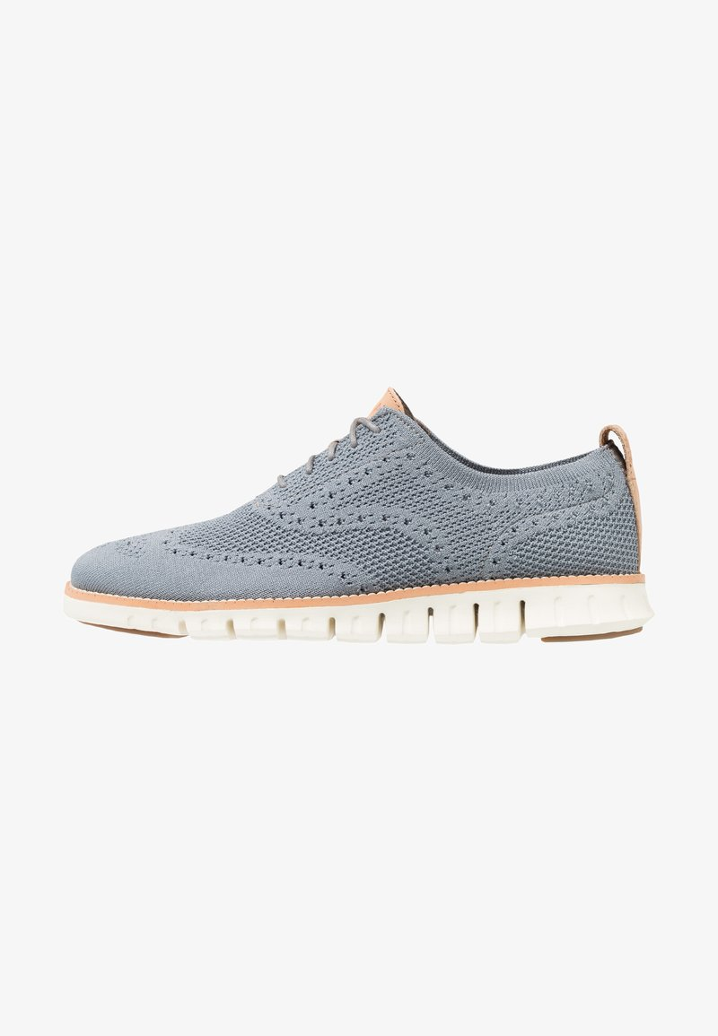 Cole Haan - ZEROGRAND STITCHLITE OXFORD - Casual lace-ups - ironstone /ivory