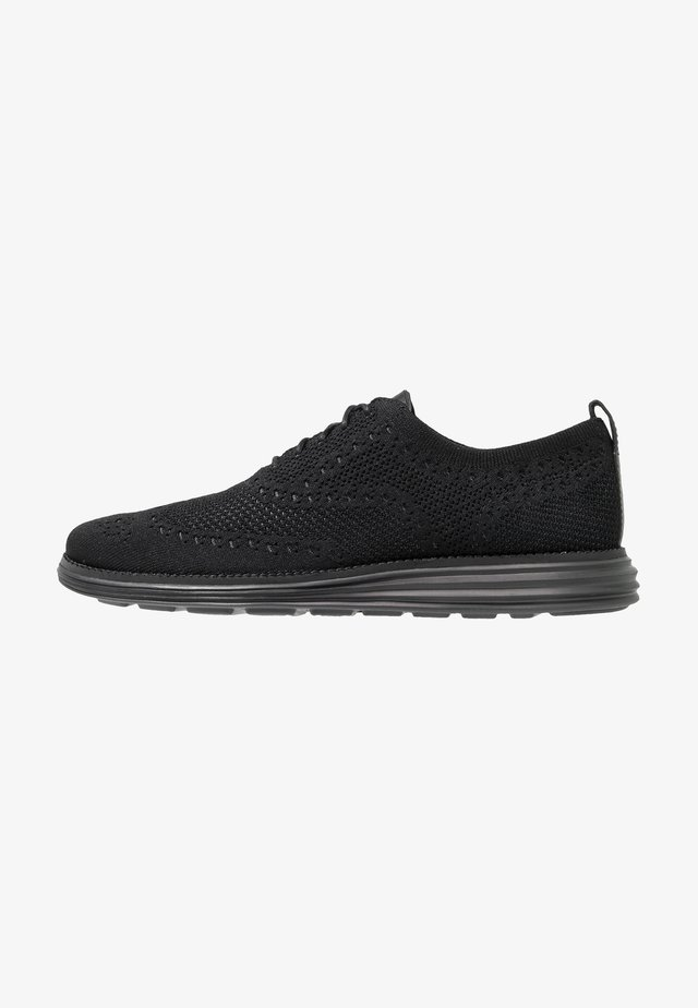 ORIGINALGRAND STITCHLITE WINGTIP OXFORD - Sporty snøresko - black