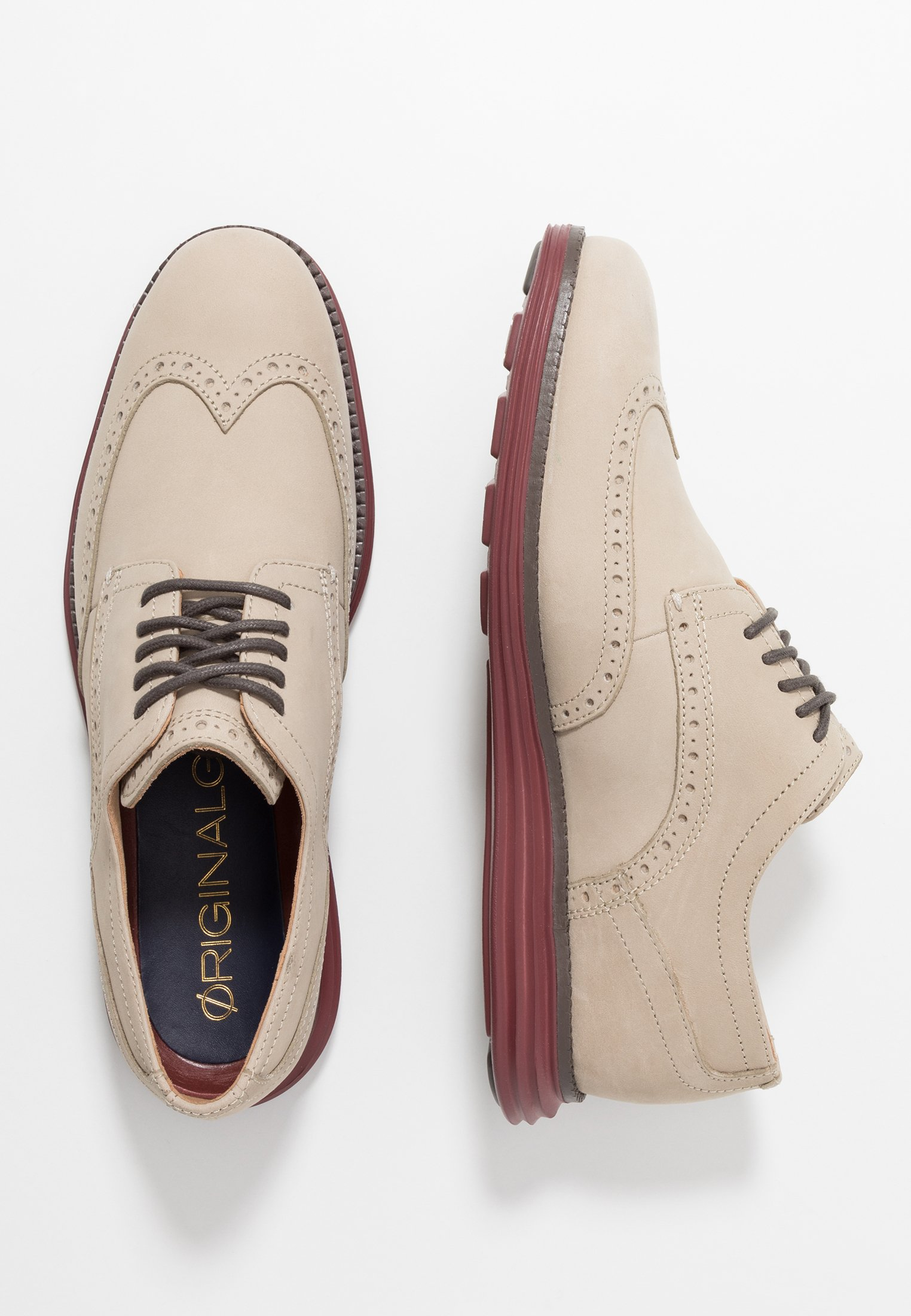 ORIGINAL GRAND WINGTIP OXFORD Sportiga snörskor hawthornfired brick