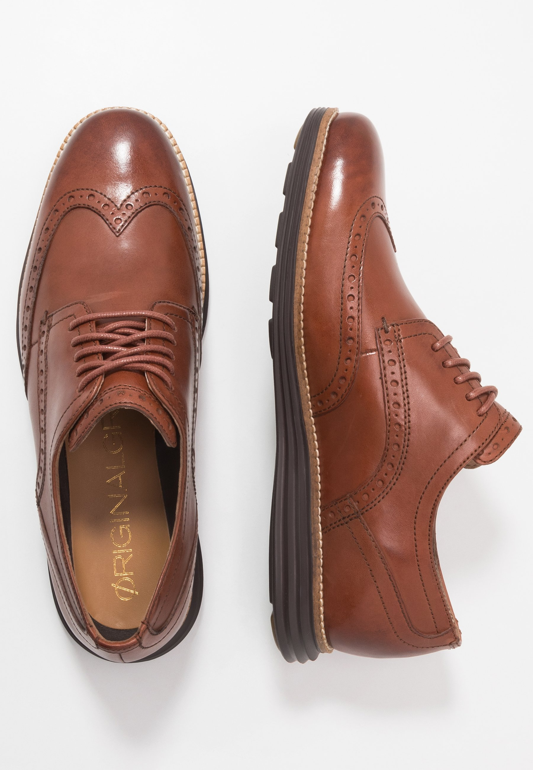 ORIGINAL GRAND WINGTIP OXFORD Snörskor woodburyjava