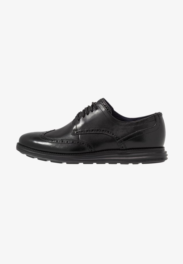 ORIGINAL GRAND WINGTIP OXFORD - Eleganta snörskor - black
