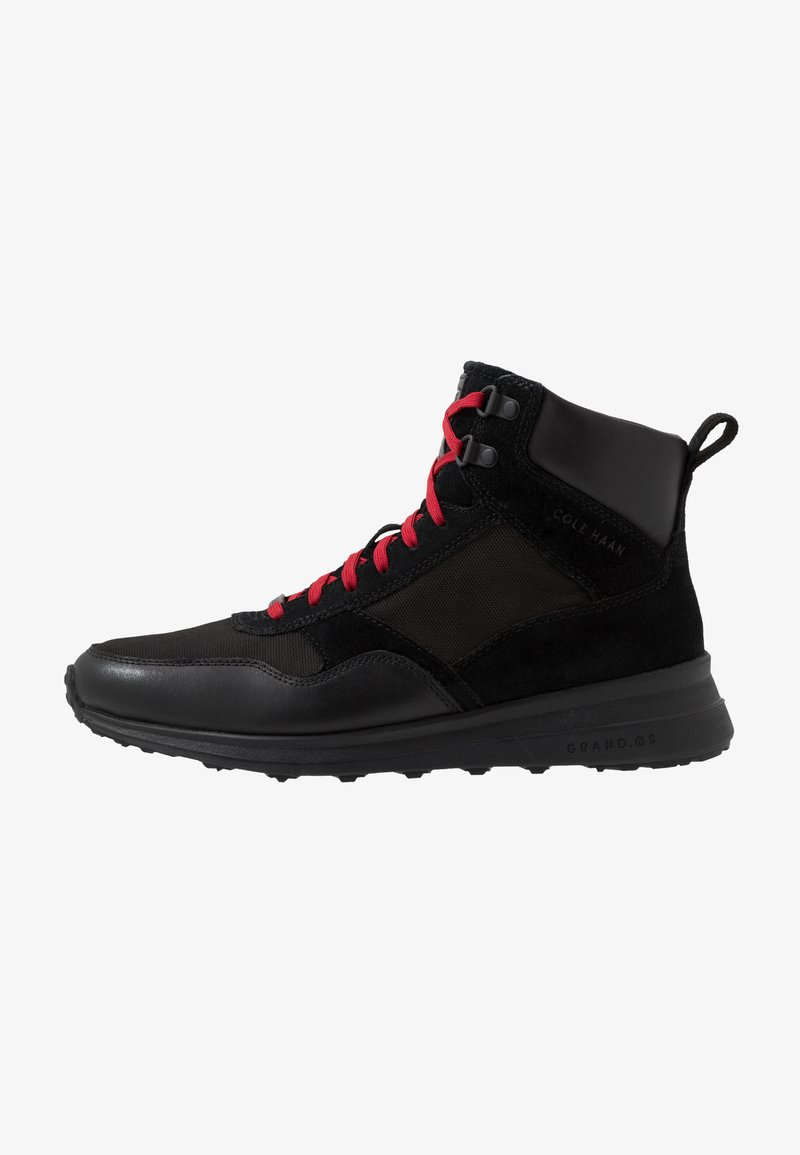 Cole Haan - GRANDPRO HIKER WR - Baskets montantes - black