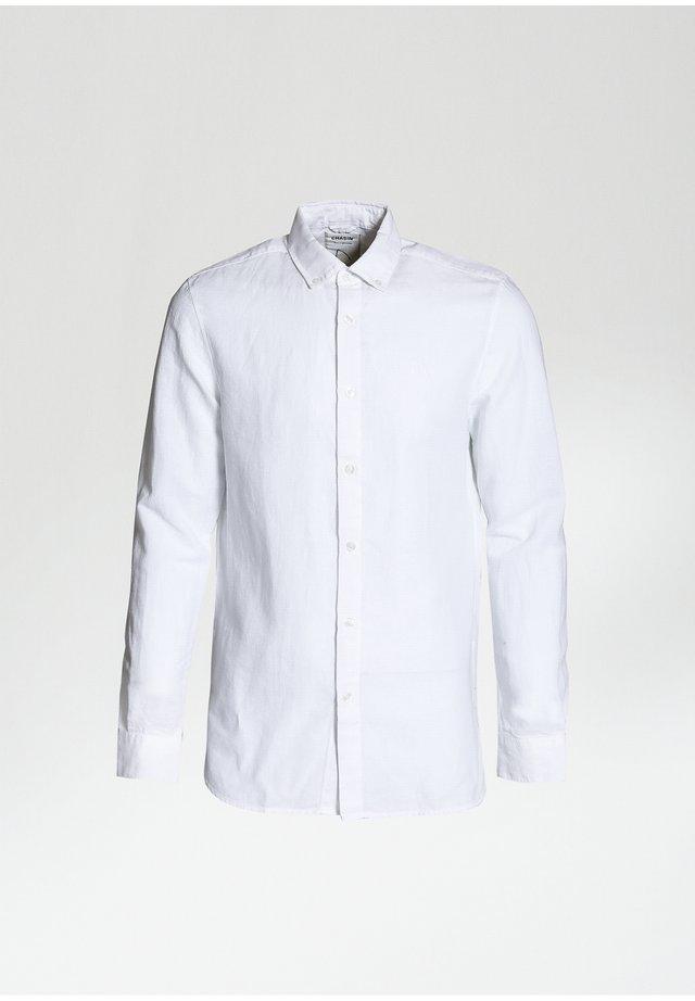 NEWTON L LINEN - Shirt - white