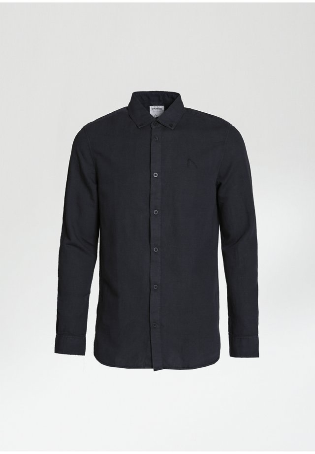 NEWTON L LINEN - Shirt - black