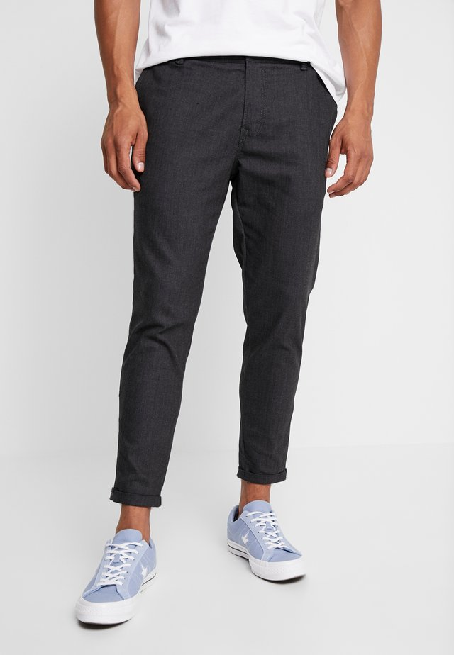 TRIGGER - Trousers - dark grey