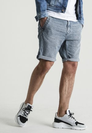 ZENO.S NORFOLK - Denim shorts - blue