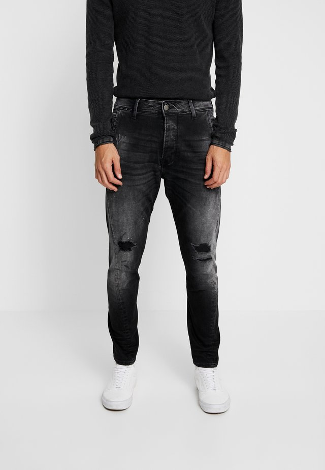 LOGIC EAST - Jeans relaxed fit - black denim