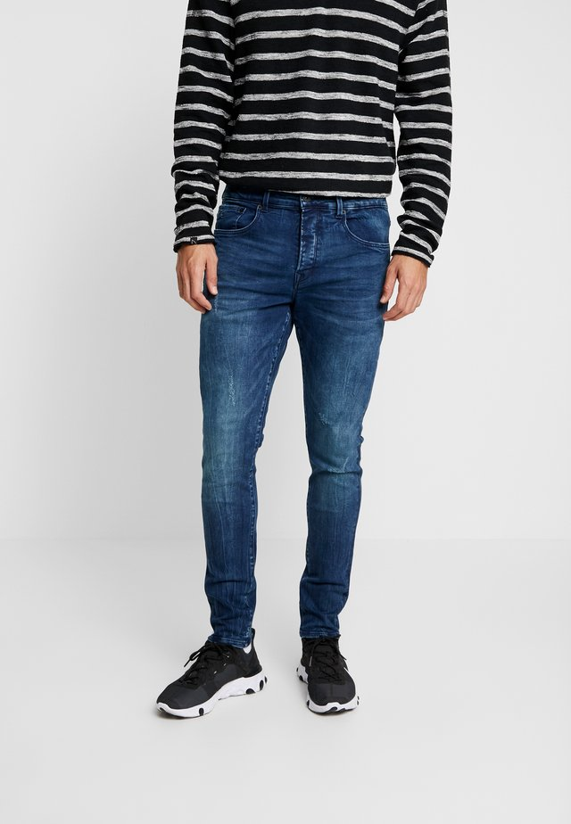 IGGY FONDY - Skinny-Farkut - dark blue denim