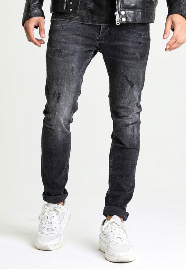 EGO COLOMBO - Slim fit jeans - black